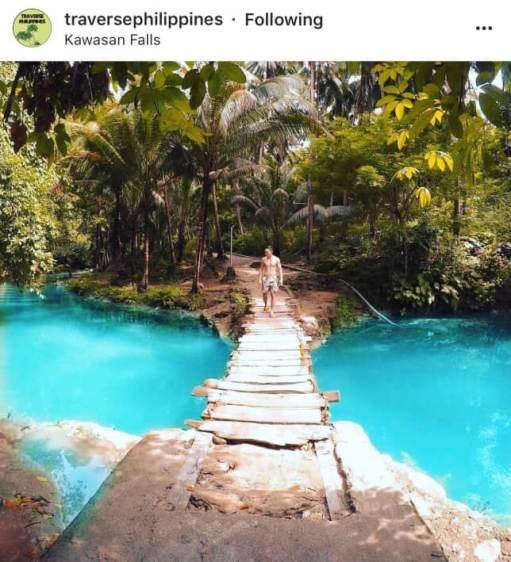 Kawasan Falls - The Top 20 Best Instagram Locations in the Philippines!