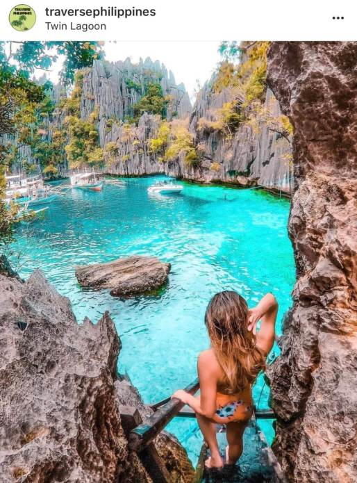 Twin Lagoon - The Top 20 Best Instagram Locations in the Philippines!