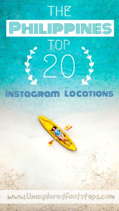 The Philippine top 20 instagram locations