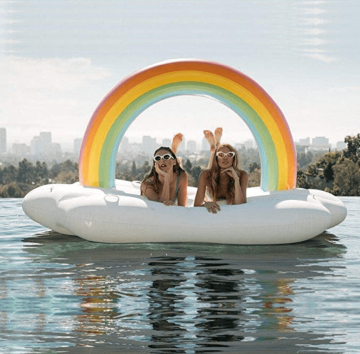 Giant Inflatable Pool Float - The best travel gifts for female travelers